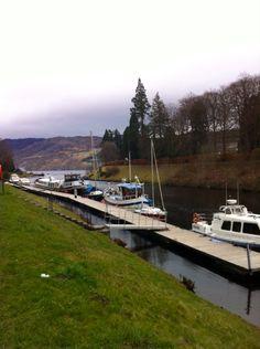 Caledonian Canal meet Loch Ness