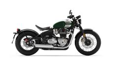 View images of Bonneville Bobber in different colours and angles. Check out 89 photos of Triumph Bonneville Bobber on BikeWale Triumph Bobber, Triumph Bonneville Bobber 2017, Motos Bobber, Bobber Bikes, Bobber Motorcycle, Motorcycle Design, Triumph Motorcycles, Vintage Motorcycles, Custom Motorcycles