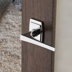 Baldwin Style Privacy Door Lever Set with choice of Small Roset Lacquered Vintage Brass Leverset Privacy