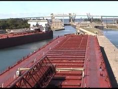 Thousand Footers at the Soo Locks in 2000