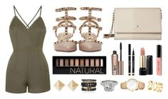 """All I Need Is Fabulous"" by warmingtontr ❤ liked on Polyvore featuring Rare London, Valentino, Kate Spade, Forever 21, Benefit, Lancôme, Bobbi Brown Cosmetics, Samantha Wills, H&M and Allurez"