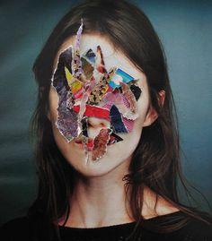 Collages by artist Marco Migani Collages, Collage Art, Face Collage, Collage Portrait, Photocollage, A Level Art, Gcse Art, Art Plastique, Photo Manipulation
