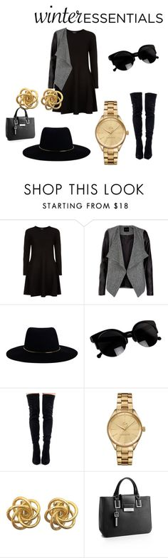 """""""Black fever"""" by mariasaenz73 on Polyvore featuring moda, DKNY, Zimmermann, Lacoste y Calvin Klein"""