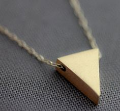 Isosoceles Triangle Necklace