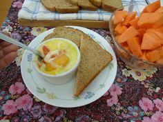 Labrando un HOGAR: Receta: Huevos en cocotte