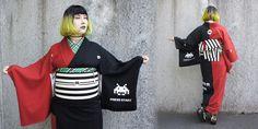 「着物についてのインタビュー」Interview with The Daily Dot Daily Dot, Space Invaders, Yukata, Modeling, Tokyo, Interview, Kimono, Inspirational, Woman