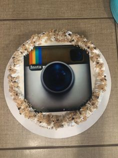 Instagram cake - All the party details @ HomeOfSix Blog on Wordpress! Instagram Birthday Party, Instagram Party, Instagram Cake, 4 Kids, Birthday Parties, Wordpress, Birthdays, Party Ideas, Blog