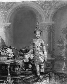 Portrait - Chulalongkorn era Prince. (later King Rama V) - TeakDoor.com - The Thailand Forum