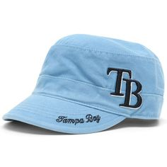 56d471fa9 Tampa Bay Rays '47 Women's Avery Military Adjustable Hat - Light Blue
