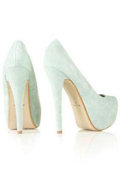 Mint green - SULTRY Platform Court Shoes - 50s Diner - Topshop.jpg