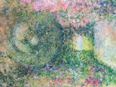 The Entrance, acrylic on canvas, Ho Sung Lee, 2004