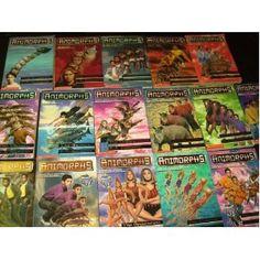The Animorphs Series.