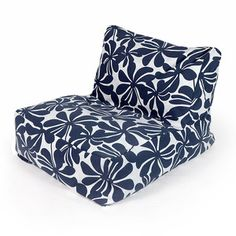 Plantation Beanbag Navy now featured on Fab.