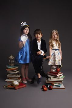 Kid's Wear - LUISAVIAROMA and kid's wear Magazine invite creative kids to let their imagination soar!