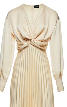 Get inspired and discover Magda Butrym trunkshow! Shop the latest Magda Butrym collection at Moda Operandi. Elegant Dresses, Vintage Dresses, Expensive Dresses, Magda Butrym, Look Fashion, Fashion Design, Fashion Details, Dress First, Silk Dress