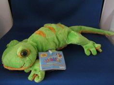 WEBKINZ, Ganz, Plush Lemon-Lime Gecko , New, Sealed Code,