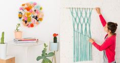 Simple and fun DIY wall art projects that don't require any painting skills.