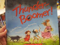 Smiles and Sunshine: Mentor Text Sunday: Thunder Boomer, teach visualization, prediction, inferencing, onomatopoeia