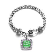 Brain Injury Awareness Classic Braided Bracelet