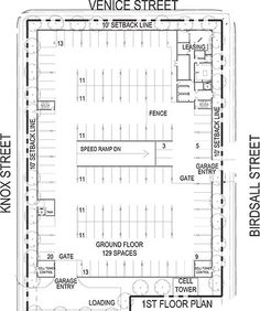 Parking Building Car Lot Ground Floor Plan Garage Plans Mall How To Showroom