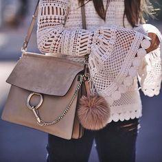 Style inspiration of the day! We love @Chloe's delicate, bohemian and feminine esthetic. #Regram via @glamhive