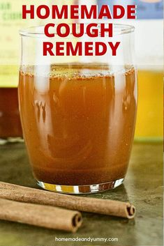 Kitchen Remedy Cough Syrup | Homemade & Yummy