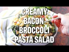 give it all a good stir and then serve. Broccoli Pasta Salads, Creamy Pasta Salads, Best Pasta Salad, Fresh Broccoli, Frito Corn Salad, Garlic Parmesan Pasta, Country Cooking, Healthy Dishes, Salad Recipes