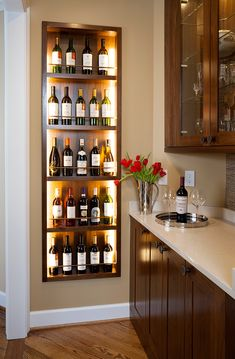 Popular Home Mini Bar Kitchen Designs Ideas To Have Asap - basement bar Kitchen Bar Design, Bar Kitchen, Bar Counter Design, Dining Room Design, Home Wine Cellars, Home Bar Decor, Custom Kitchens, Basement Remodeling, Basement Ideas