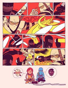 """Snake Eyes vs Storm Shadow"" by artist Dan Hipp."