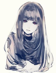 I really like this art style. ((Tokyo Ghoul, Hinami's mum who's name escapes me))