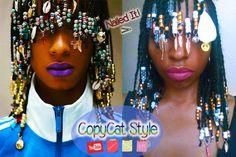 WATCH ME COPY THIS EPIC HAIRSTYLE: https://www.youtube.com/watch?v=gkouJQhukA8  #copycat #100layers #100hairtwists #100challenge #beautyblogger #beautycare #beautyqueen #beautyblog #beautyproducts #beautyaddict #beauty #makeup #lipstick #makeupblogger #styleblog #beautyguru #bbloggers #fashioninspo #trendalert #NaturalHair #NaturalHairStyles #TeamNaturalHair #TeamNatural #hairspo  #HairStyles #hairaccessoires #hairbeads #CurlyHair #Beads #afro  #afrohair