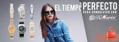El tiempo perfecto para conquistar   Sitio Web Oficial de Relojes D´Mario - Colombia, Ecuador y Panamá Mario, Ecuador, Coat, Jackets, Ideas, Fashion, Totes, Clocks, Colombia