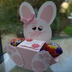 Made Using the Envelope Punch Board and Punches to create a Punch Art Bunny https://www.facebook.com/PapercraftwithCrafty http://www.stampinup.net/esuite/hom...