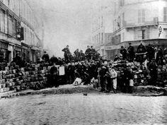 comuna de paris - barricada