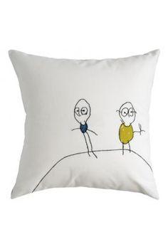 Cushion Funny Guys  www.lacerisesurlegateau.fr