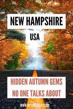 All you need to plan the perfect fall road trip in New Hampshire in New England. babies flight hotel restaurant destinations ideas tips New England States, New England Travel, Usa Travel Guide, Travel Usa, Travel Tips, Travel Ideas, Travel Inspiration, New England Fall Foliage, East Coast Travel