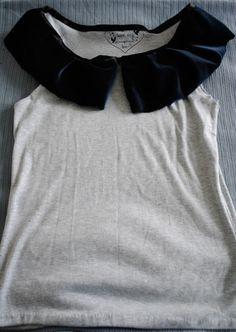 How to Make a Flouncy, Frilly Collar by Huma Qureshi #Collar #DIY #Sewing #Huma_Quereshi