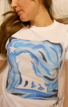 Tshirt  Wear  Art by Haidji   White Lion by Haidji on Etsy, €20.00