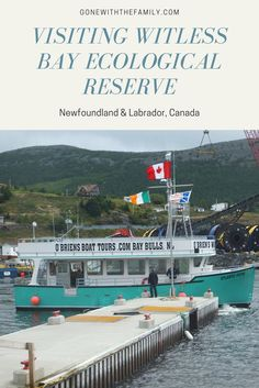 Visiting Witless Bay Ecological Reserve in Newfoundland Canada - Gone with the Family Be kind to the places you visit. Newfoundland Canada, Newfoundland And Labrador, Canadian Travel, Canadian Rockies, Family Vacation Destinations, Family Vacations, Vacation Ideas, Travel Flights, Prince Edward Island