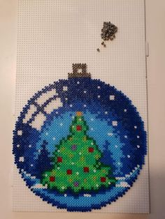 Wonderful Photo christmas perler Tips 'Tis of which holiday once more! That Christmas, we wish to be not only your ticketing partner. Christmas marvelous t Perler Bead Templates, Diy Perler Beads, Perler Bead Art, Hama Beads Design, Hama Beads Patterns, Beading Patterns, Christmas Perler Beads, Beaded Christmas Ornaments, Christmas Crafts
