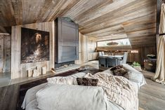 Zwd-Projects homeadore modern rustic interiors, rustic modern, luxury homes i Chalet Interior, Luxury Homes Interior, Interior Architecture, Interior And Exterior, Interior Design, Grey Pictures, Modern Rustic Interiors, Rustic Modern, Modern Luxury