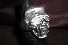 megadethrock and roll biker ring will-size by FreemasonsStore