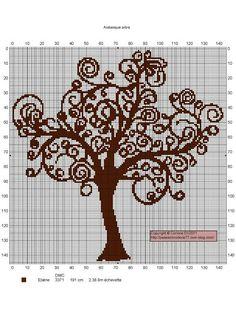 ♥ cross stitch archive ♥: TREE-FREE CROSS STITCH PATTERNS