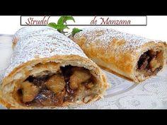 STRUDEL DE MANZANA increible, fácil y muy delicioso - YouTube