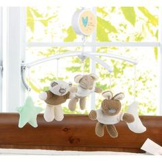 Babies R Us 'I Love My Bear' Cot Mobile