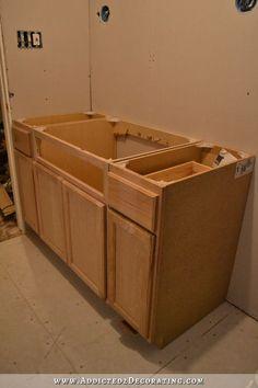 bathroom drywall and vanity - 7