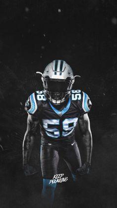 9c508da6907 Thomas Davis - All Black Uniform Panther Nation, Carolina Panthers, All  Black, South
