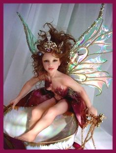 How to make fantasy film fairy wings, by Artisan Deb Wood