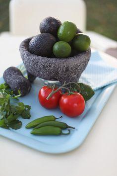 Molcajete: Traditional Mexican cookware to make fresh salsas.