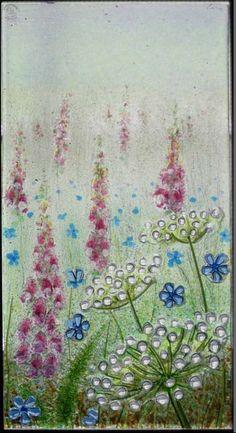 aylesglass - fused glass windows & screens - flowers